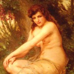 Guillaume-Seignac-xx-The-Forest-Nymph-xx-Private-Collection
