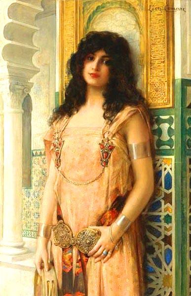 Lêon Francois Comerre, Eastern Beauty