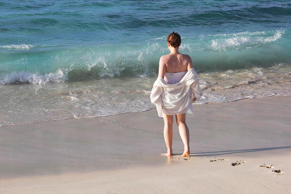 jen beach waves